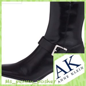 💋JUST IN💋 Anne Klein Forever Black Ankle boots